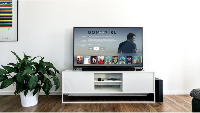 Smart TV in Living Room Consuming Phantom Loads